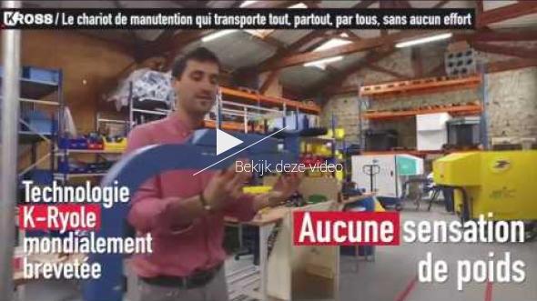 Mécaniser la manutention grâce à Kross le chariot de manutention électrique
